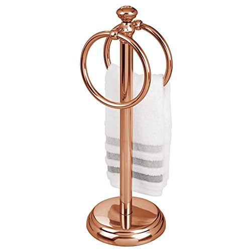 Toallero De Doble Colgante 14,25 de alto Rose Gold
