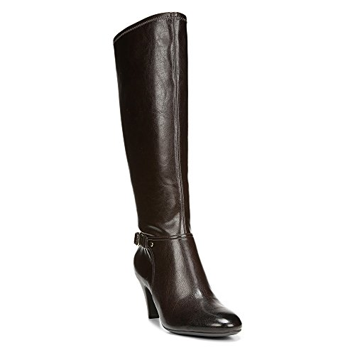 Naturalizer de mujer de niña botas de equitación Dark Brown