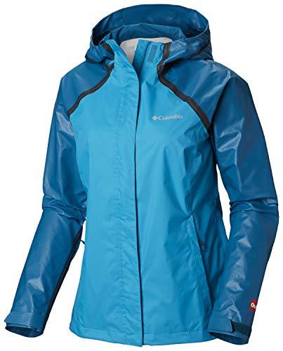 (Columbia Women's Outdry Hybrid Jacket, Modern Turquoise, Siberia,)