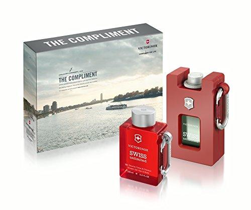 Swiss Army Victorinox Eau De Toilette Gift Set with Shower Gel, Swiss Unlimited, 2.5 Ounce ()