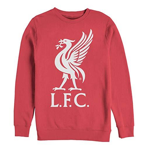 Liverpool Football Club Men's Bird Logo Red Sweatshirt