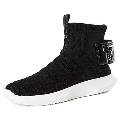 Liuxc Zapatillas de deporte Calzado Alto-Top Calcetines Zapatos Altos-Altos Zapatos de los