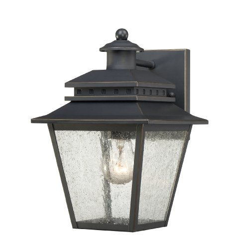 - Quoizel CAN8407WB Carson 7-Inch Wide 1 Light Outdoor Wall Fixture