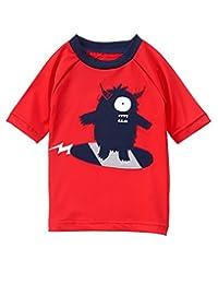 Gymboree baby-boys Toddler Boys Red Monster Rashguard