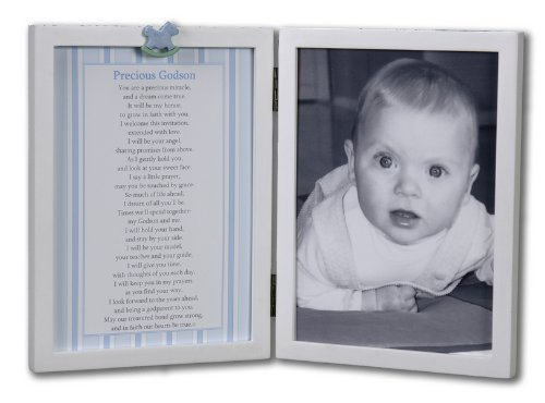 Amazon.com : Precious Godson Table Top Picture Frame : Baby Keepsake ...