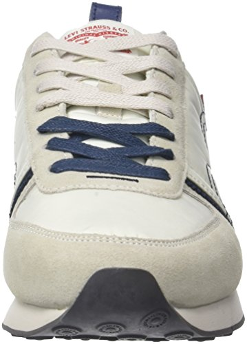 Bianco Regular Levi's Uomo Noir Gilmore White Sneaker Xq1tw4x1