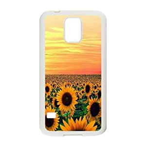 DIY Sunset Phone Case, DIY Phone Case for samsung galaxy s5 i9600 with Sunset (Pattern-1)