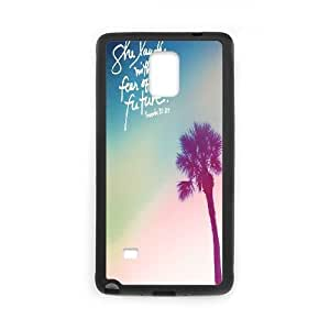 she laughs without fear of future Design Cheap Custom Hard Case Cover for Samsung Galaxy Note 4, she laughs without fear of future Galaxy Note 4 Case