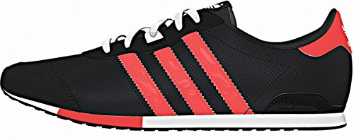 adidas - Zapatillas para hombre Grau (Solid Grey/Flash Red/Core Black) - Grau (Solid Grey/Flash Red/Core Black)
