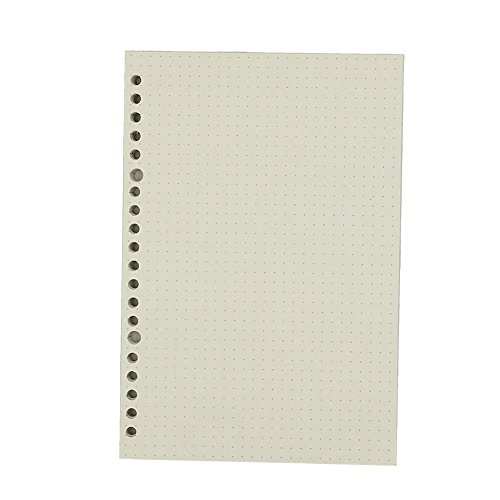 (Chris.W Loose Leaf Paper Insert Refills for Binders Notebooks Planners - A5 Size(5.59