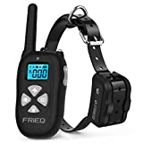 FRiEQ Dog Training Collar Remote Control Waterproof Rechargeable with Tone/Vibration / Electric Shock Modes for Small Medium Large Dogs Review