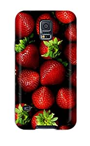 Premium Galaxy S5 Case - Protective Skin - High Quality For Strawberries