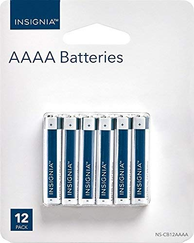 Insignia AAAA Batteries (12-Pack) NS-CB12AAAA