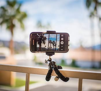 Digital Phone Tripod, Portable & Adjustable Camera Stand Holder Universal Clip For Iphone, Android Phone, Cam & Sports Camera Go Pro, Self Timer For Selfie 1