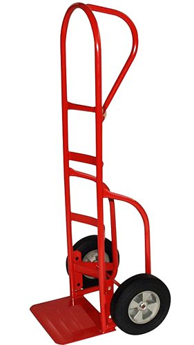 Milwaukee Hand Trucks 33045 P-Handle Truck with 10-Inch Puncture Proof Tires (Milwaukee 800 Lb Capacity D Handle Hand Truck)
