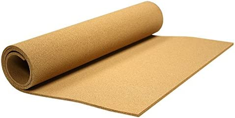 CYC90 Board Dudes Hobby Cork Roll with Adhesive 1 Wide x 2 Long