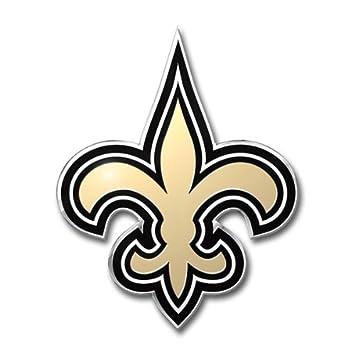 Amazon Nfl New Orleans Saints Die Cut Color Automobile Emblem