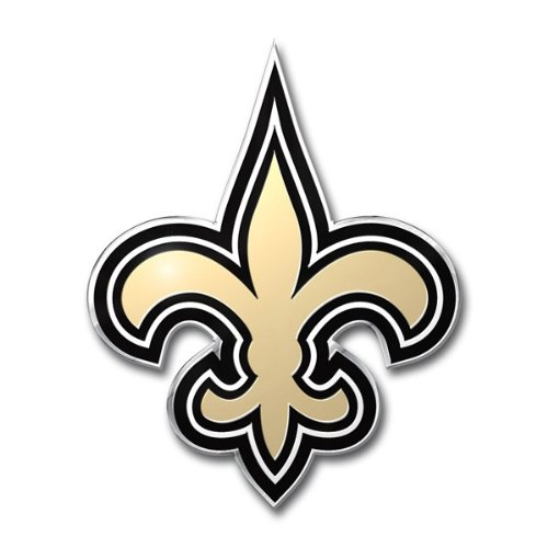 NFL New Orleans Saints Die Cut Color Automobile Emblem