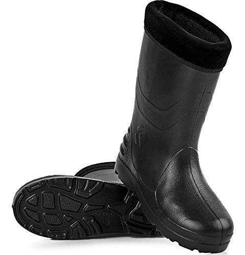 Stivali per Ladeheid di KL032 Donna Nero Eva Gomma 1TI5q