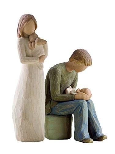 Willow Tree Angel or Mine and New Dad Figurines by Susan Lordi - Willow Tree New Dad