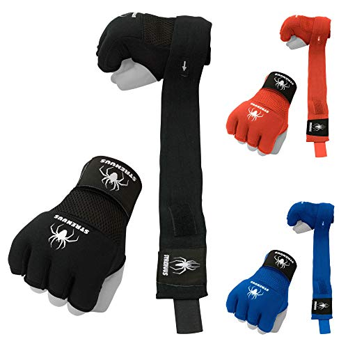 Strenuus Quick-Apply Gel-Padded Wraps for Boxing Gloves; Boxing Wraps; Kickboxing Wraps; Lightning-Fast Wrapping; Non-Slip Padding; Quick-Drying Fabric; Buy Now and Get Ready Faster Than Your Friends