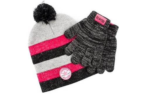 converse hat and scarf