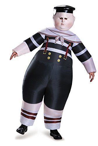 Amazon Com Disney Men S Alice Dum Tweedle Dee Inflatable Costume Multi One Size Clothing