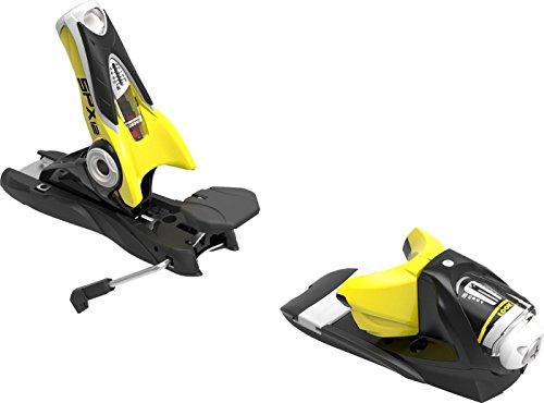 Rossignol Look SPX 12 Dual WTR B100: Ski Bindings (Black/Yellow, One Size)