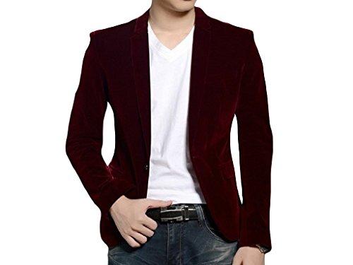 Chaqueta americana blazer de terciopelo, negro, azul marino, rojo, 1 a 15 años: Amazon.es: Ropa y accesorios