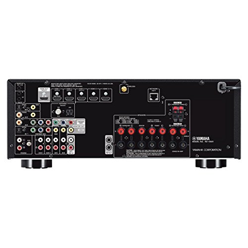 Yamaha rx v681 7 2 channel 4k av receiver with wx 030 for Yamaha 7 2 receiver reviews