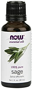 NOW  Sage Oil, 1-Ounce