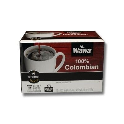 Wawa Single Cup Coffee K-Cups for Keurig Brewers - 12 Count (Columbian)