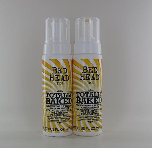 TIGI Bed Head Totally Baked Hair Meringue 7oz Pack Of 2