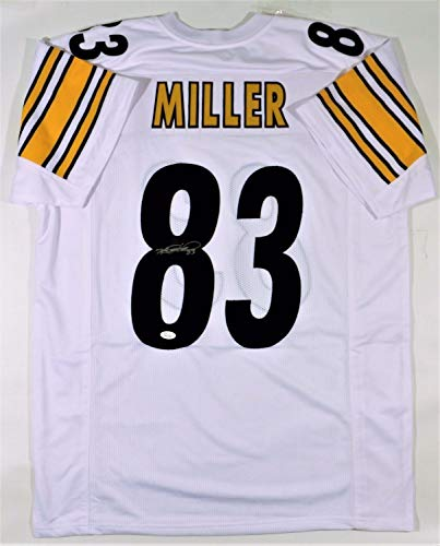 Super Bowl Xl Xliii Winner Heath Miller Autographed Signed Steelers Jersey Jsa ()
