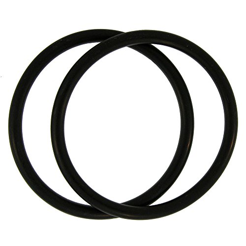 Truly Vintage Girlprops Rubber Bracelets, From the 80'S!, Set Of 2 Thicker Vintage in Black