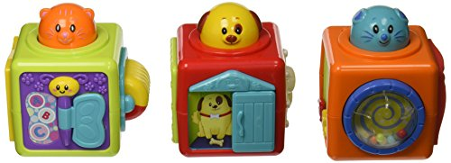Price comparison product image Small World Toys IQ Baby - Stack 'n Play Activity Blocks Set B / O