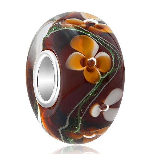 Handarbeit Mano Kunsthandwerk Murano Glas Bijoux Anhänger Murano-glas