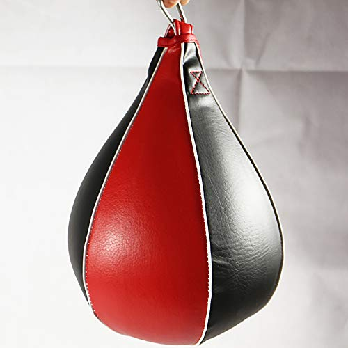 ZPALLASD Boxing pear Shaped PU Speed Ball Rotating Punch Bag Exercise Hook Exercise Fitness Training Ball