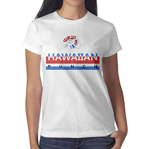 MAVCUT Funny t Shirt for Women Hawaiian Fruit Punch Womens t Shirts Cotton Fashion tee Shirts]()