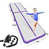 Best Tumbling Mats - Air Track Tumbling Mat for Gymnastics Inflatable Airtrack Review