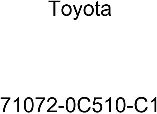 Toyota Genuine 71072-0C510-C1 Seat Cushion Cover