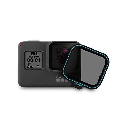 AFAITH Filtro polarizadore Filtro de polarizacion Cuadrado Protector de Lente CPL Protector para GoPro Hero 5 Hero 6/7