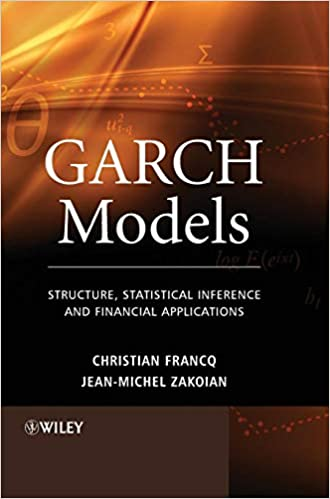 Amazon com: GARCH Models: Structure, Statistical Inference