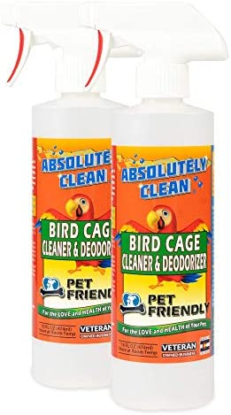Absolutely Clean Amazing Bird Cage Clean
