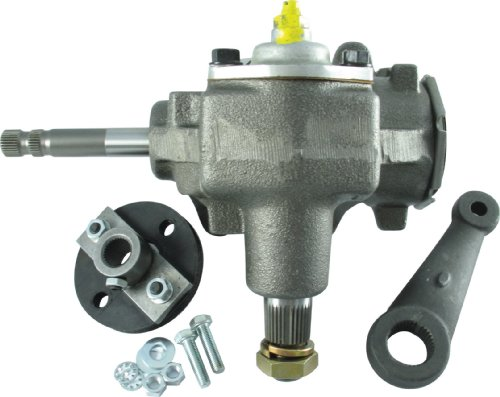 Borgeson 999003 Power to Manual Steering Box Conversion Kit ()