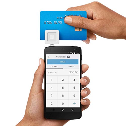 Square Credit Card Reader w/$10 Account Credit (Iphone For Card Square Reader)