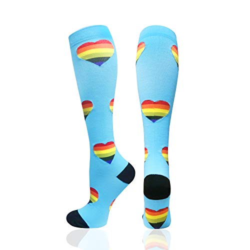 - 1/3/6/7 Pairs Compression Socks for Women&Men (20-30mmHg) -Best for Running, Travel,Cycling,Pregnant,Nurse, Edema