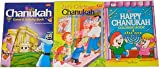 Chanukah Coloring and Activity Book 3-pack