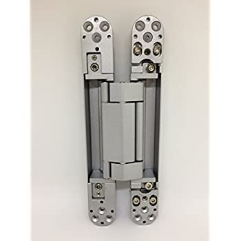 Ranbo 6 x 2.5 x 1 inch Zinc alloy/aluminum alloy material Heavy Duty Invisible/Concealed/hidden 3 way Adjustable butt hinge Suitable for commercial residential industrial door