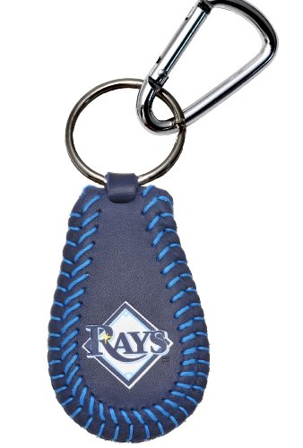 Gamewear 4421400486 Tampa Bay Rays Team Color Baseball Keychain - Tampa Bay Devil Rays Team Colors